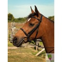 English leather show bridle