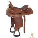 Colt western saddle and bridle set.