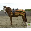 Harlequin 3/4 Ride-On Newmarket Stripe Fleece Rug