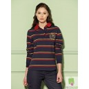 Tottie Striped Rugby Top
